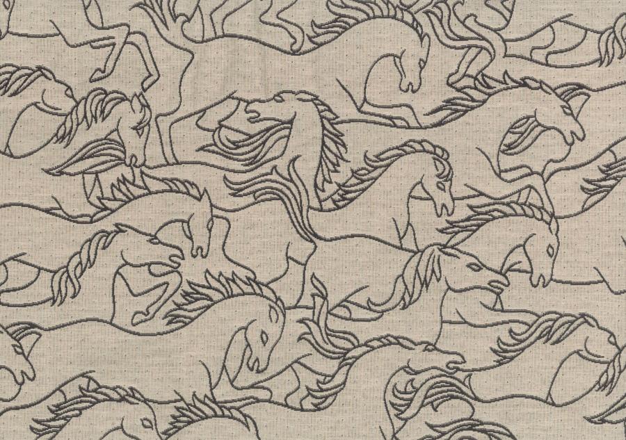 Horses jacquard