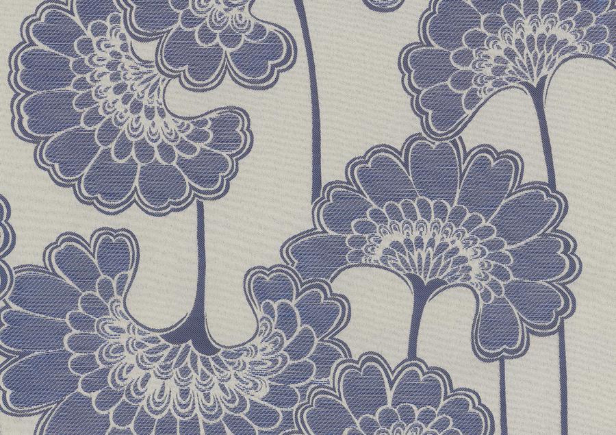 Jacquard Japonese Floral