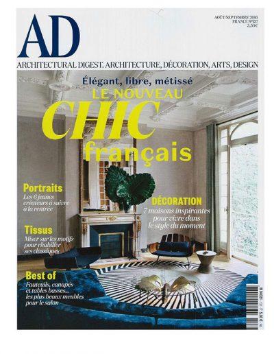AD de Aout Septembre 2016 - Page 1