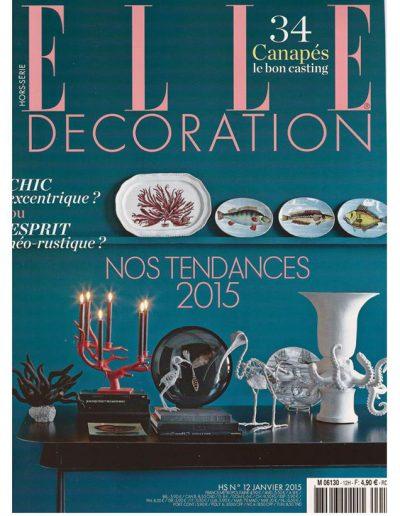 Elle Décoration Janvier 2015 - Page 1