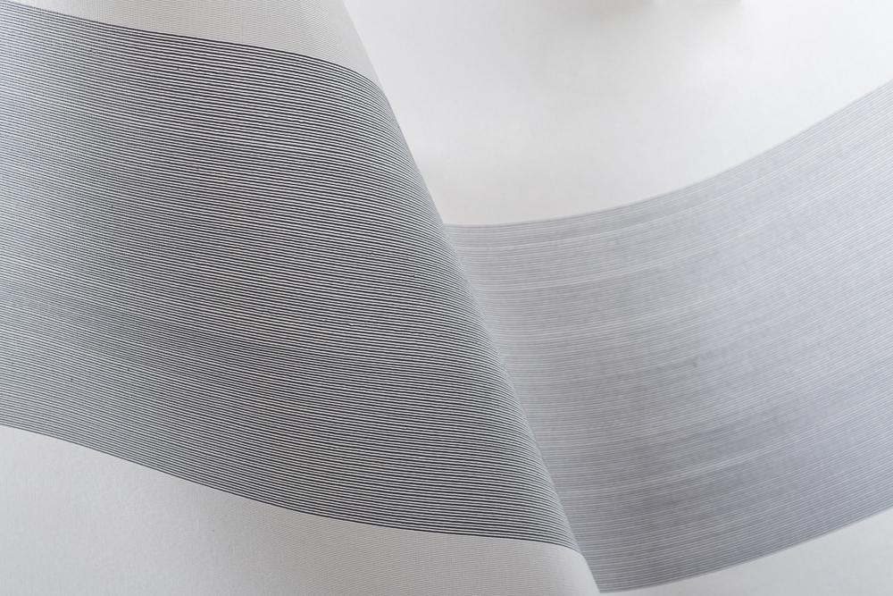 Lattitude design on rice paper