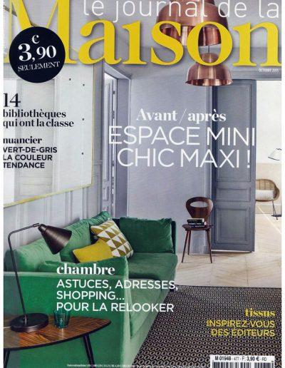 Le Journal de la Maison Oct 2015 - Page 1