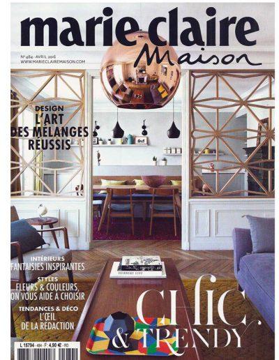 Marie Claire Maison de Avril 2016 - Page 1
