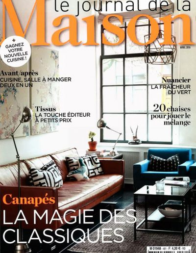 Le Journal de la Maison – Avril 2016 – Page 1