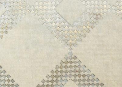 070 Gilded Gold, Tonal Mosaic On Snow 01 Rembrandt Velvet