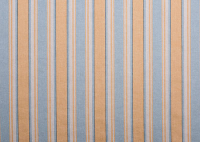 Bertie Stripe - Sky-Mustard