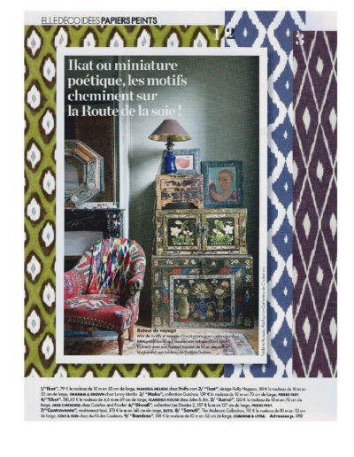 #4 Elle Decoration Fevrier Mars 2017 Jules et Jim Clarence House